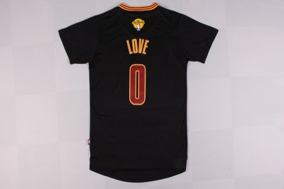 Cheap New Style 2016 Cavaliers Finals #0 Love Merchandise Sleeved black QMN228