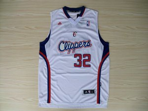 Cheap Online Sale Los Angeles NBA Clippers 32 White FDT2310