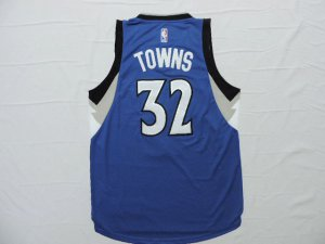 Discount Buy Minnesota Timberwolves #32 Karl Anthony Towns Gear Blue TNV2861