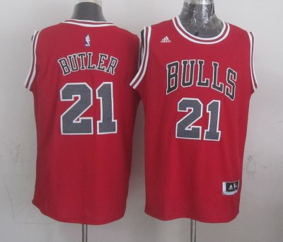 High Quality Chicago Bulls #21 Basketball butler red TAD772