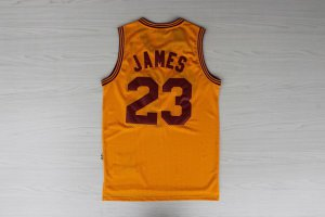 Hot Cheap Sale Merchandise Lebron James Cleveland Cavaliers Retro yellow 23 UGA1205