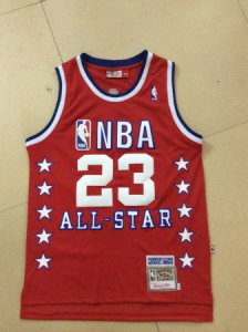 Latest Michael Jordan 1989 Year all NBA star game red VVH174
