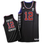 New trend 2015 All Star NYC Western Conference Clothing #12 Dwight Howard Black VBF163