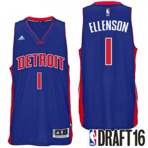 Outlet 2016 Draft Pick Detroit Pistons Henry Ellenson Blue Road Swingman Apparel WCE1395