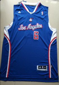 Quick-drying fabric DeAndre Jordan Clippers 6 Basketball blue RZF2298