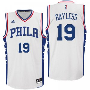 Shopping Philadelphia 76ers #19 Jerryd Bayless 2016 Home White Swingman NBA PXF3236