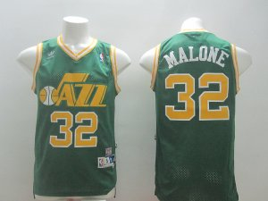 The good business Jersey Malone Utah Jazz 32 green TJZ4141