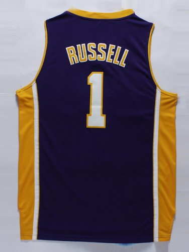 Unique design #1 Russell Lakers purple Clothing (stitched) TIE2412