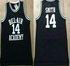 Unique design The Movie Bel Air Academy Merchandise 14 Will Smith Black Swingman Basketball RVF1489