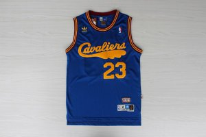 Wholesale 23 Lebron NBA James back home blue RRU1197