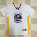 Wholesale Cheap Stephen Curry white Apparel sleeves QNZ1606
