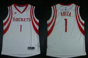 absorbent Revolution 30 Rockets Merchandise #1 Trevor Ariza White Road Stitched XAN1915