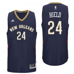 for wholesale 2016 NBA Draft Orleans Pelicans #24 Buddy Hield Road Navy Swingman WFD2914