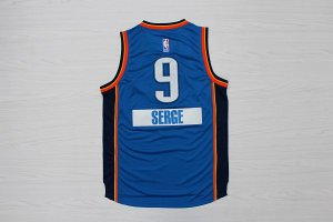 offer more discounts Oklahoma City serger Jersey #9 blue QXX3114