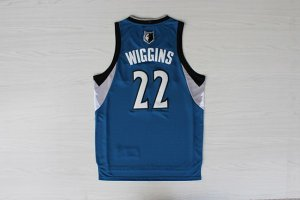 transaction Minnesota Timberwolves Andrew Wiggins 22 Clothing Blue Revolution 30 Swingman CLC2870