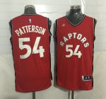 100% Hight Quality #54 Patterson Toronto Raptors Basketball red WSL3939