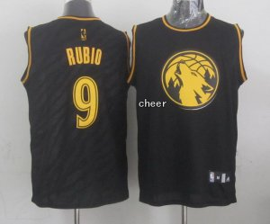2018 Cheap Minnesota Timberwolves #9 rubio NBA black IFF2873