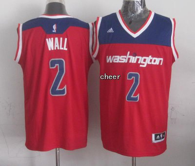 2018 Cheap Washington Wizards #2 wall Apparel red SFO4203