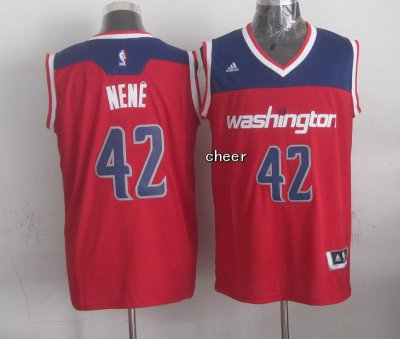 2018 New Arrive Washington Wizards #42 nene Clothing red FJT4209