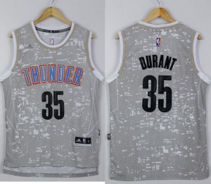 65% Discount Thunder #35 Kevin NBA Durant Grey City Light Stitched FZC3111