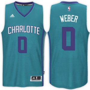 65% Off Charlotte Hornets #0 Briante Weber 2016 17 Alternate Basketball Teal Swingman NZY611