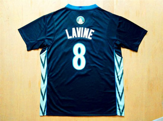 Best Gift Minnesota Apparel Timberwolves  8 Zach LaVine Black Alternate  Stitched INB2867 231051af2