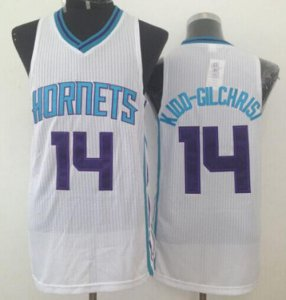 Cheap New Style Revolution 30 Hornets #14 Michael Kidd Gilchrist White Stitched Basketball DPT646