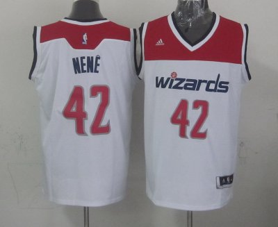 Cheap Online 2018 Washington Wizards Gear #42 nene white JZK4210