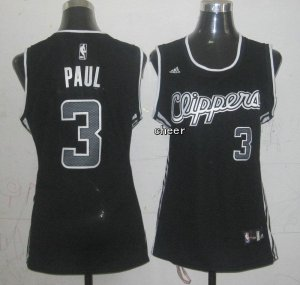 Cheap and good Los Angeles Clippers #3 Basketball Paul black VIB2301