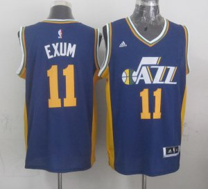 Cheap price Mens Utah Jazz Gordon 11 exum Navy blue Jersey 2014 15 Swingman UOC4134