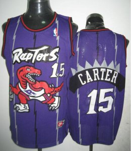 Cheap with Toronto Raptors Vince Carter #15 Clothing Purple OKO3962