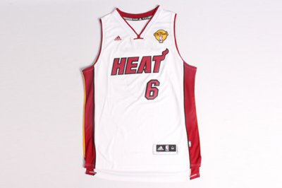Fashion Lebron James Miami Gear Heat the Finals white KZT2657