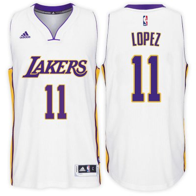 Find Los Jersey Angeles Lakers #11 Brook Lopez Alternate White Swingman KSS2439