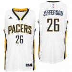 Genuine Indiana Pacers #26 Al Jefferson 2016 Home White Swingman Merchandise PFD1989