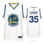 Hot 2018 Golden State Warriors Kevin Durant #35 White Basketball Jerseys YBU1633
