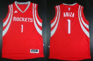 Hot Cheap Revolution 30 Rockets NBA #1 Trevor Ariza Red Road Stitched XNT1918