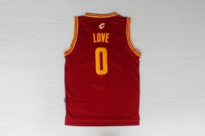 Hot Online Cleveland Cavaliers 0 Kevin Love Revolution 30 Swingman Jersey Red KOS1157