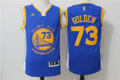 Hot Online Golden State Warriors 73 Clothing Wins #30 Stephen Curry Blue Rev 30s Swingman KSM1651