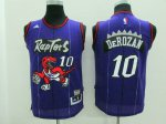 Latest Arrival Toronto Raptors #10 Derozan Apparel Kids raptors throwback Rev30 FCS2059