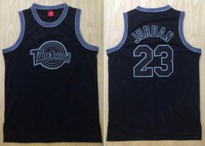 Latest style Space Jam Tune Squad #23 Michael Basketball Jordan Black Stitched Basketball SDM1462