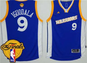 New Warriors #9 Clothing Andre Iguodala Royal Stretch Crossover The Finals Patch Stitched JQS1880