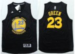 Online Sale Apparel Warriors #23 Draymond Green Black Stitched POO1712