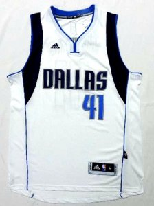 Outlet Dallas Mavericks Dirk Nowitzki 2015 Gear white color PFU1289