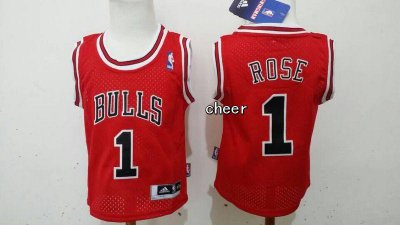 Temperament baby Chicago Bulls #1 Basketball rose red SNP2078