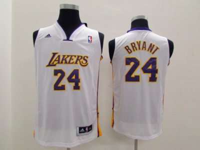Top Quality Kobe Bryant youth kids Gear white JEZ2048