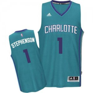 Unique design Revolution 30 Hornets #1 Lance Stephenson Jerseys Light Blue Stitched YOR643