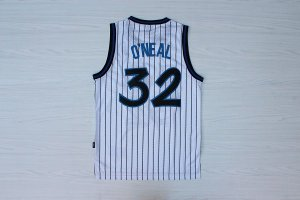 discount price Orlando Magic Jerseys 32 O NEAL White Stripe Swingman mesh XGJ3166