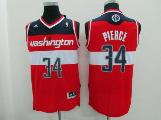 factory price 9ae02 9ef6d Buy Authentic Washington Wizards #34 Paul Jersey Pierce Home ...