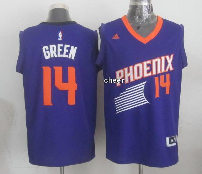Buy Cheap Phoenix NBA Suns #14 green purple VUT3334