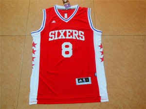 Cheap Philadelphia 76ers 8 wroten Gear red GIB3273